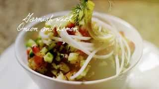 Eats Calgary: Unexpected Harvest, Shirazi Salad Recipe At Arch Persian Lounge