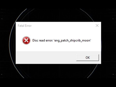 [Solved] How to fix Dics read error