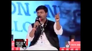 Kanhaiya Kumar Got Ripped at India Today Conclave 2016 - Part 1