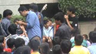 killing in the name of (RATM) by the shri ram school band