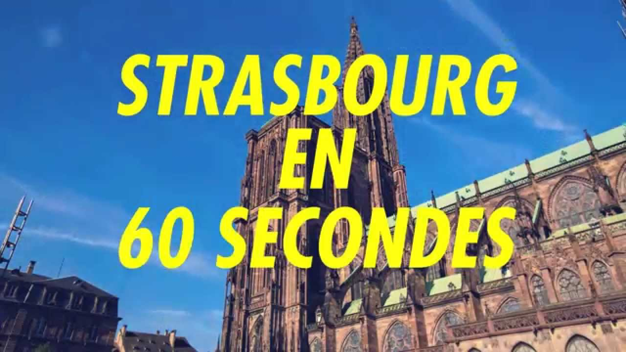 Strasbourg en 60 secondes youtube for Ad garage strasbourg