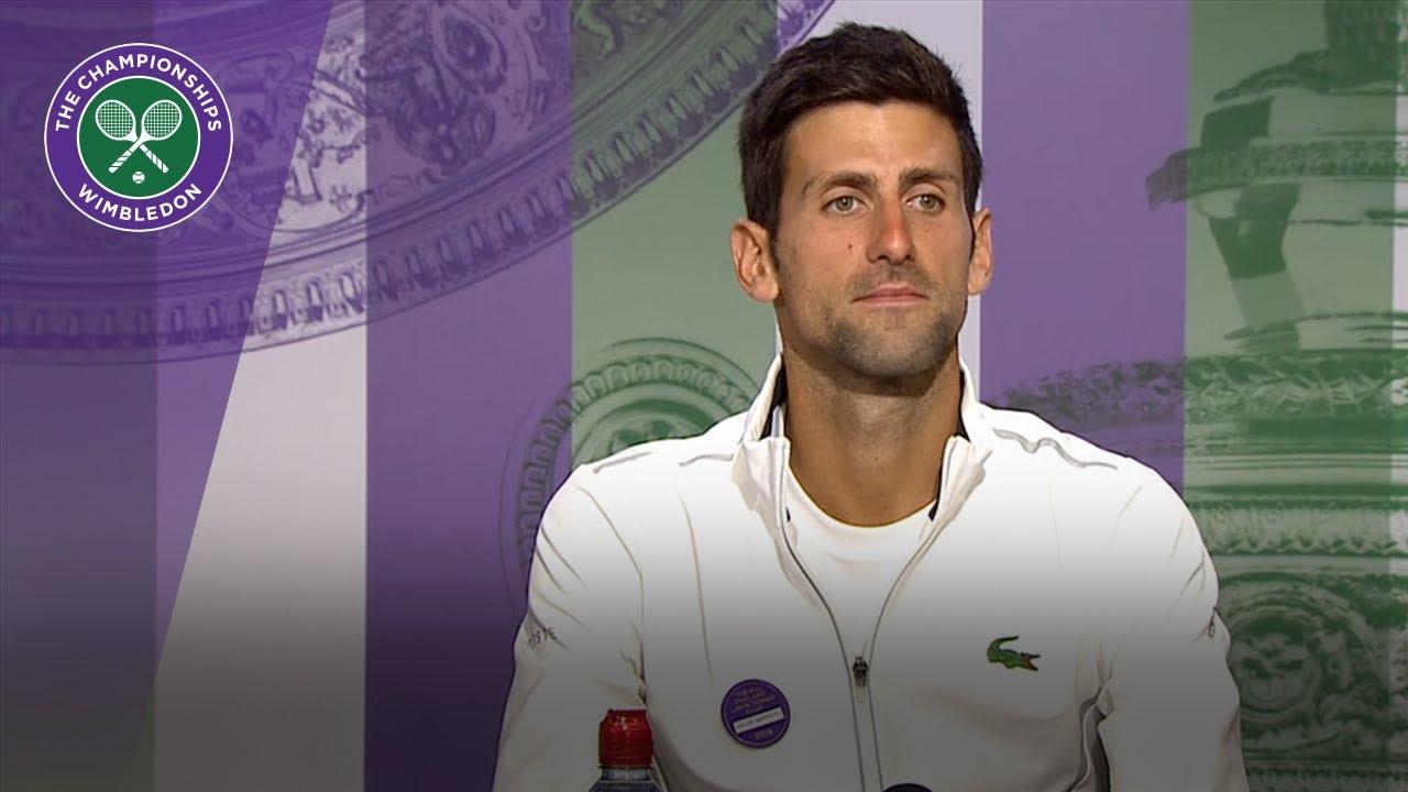 Novak Djokovic 'I have to cherish the accomplishment'
