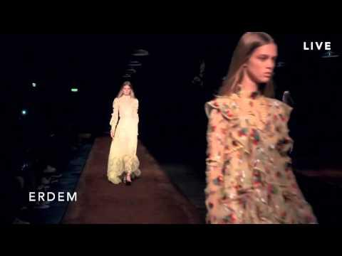 Erdem Spring 2016 Ready-To-Wear LFW