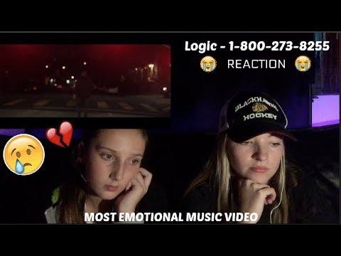 Logic - 1-800-273-8255 ft. Alessia Cara, Khalid. REACTION! *EMOTIONAL*