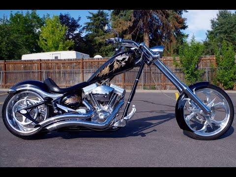 FOR SALE 2006 Big Dog K9 K-9 Custom Softail Chopper Motorcycle 6,263 Miles Harley Davidson $14,987!