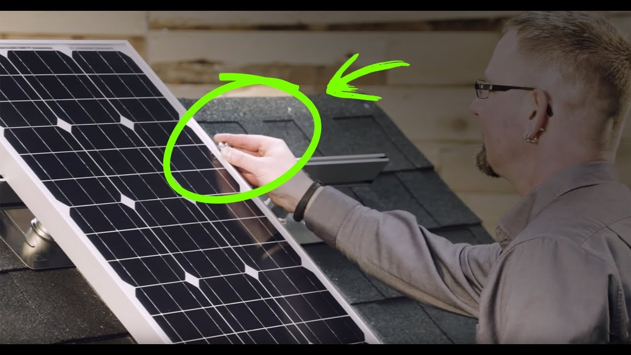 How To Install Solar Panels Yourself On Your Roof It S
