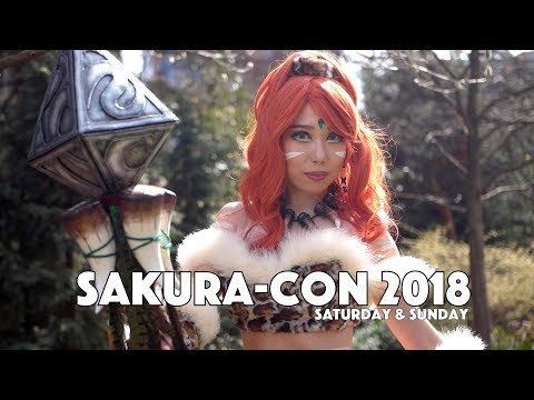 Sakura Con 2018 Cosplay