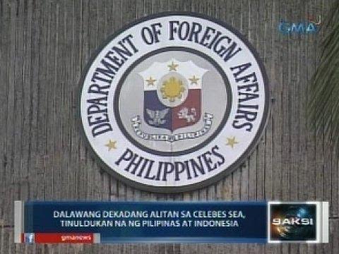 2 dekadang alitan sa Celebes Sea, tinuldukan na ng Pilipinas at Indonesia