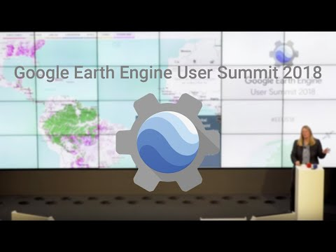 google earth engine summit 2018
