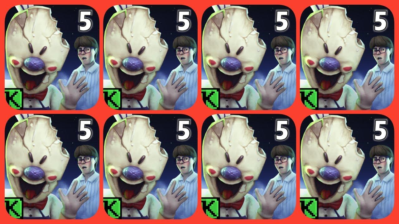 Ice Scream 5 Gameplay! Ice Scream 5 Friends Mike adventure #FullGameplay Ending - Horror Games #81