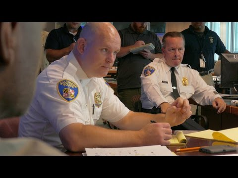 Baltimore City Police Department War Room