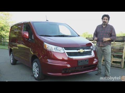 2015 Chevrolet City Express Cargo Van Test Drive Video Review