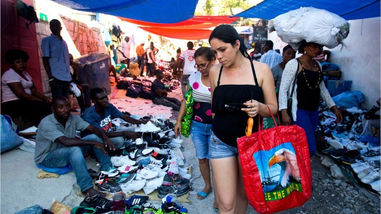 Como Es Vivir En Haiti los cubanos van a comprar a haití, el país más pobre del hemisferio