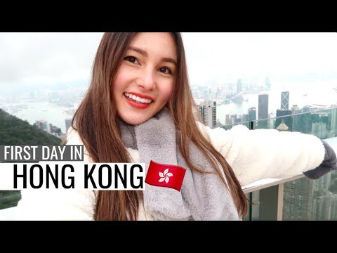 First Day In Hong Kong! Victoria Peak & Mongkok⎮Hong Kong Tr
