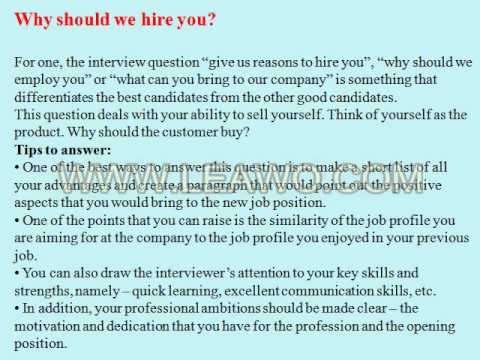 9 customer service account manager interview questions and answers youtube - It Manager Interview Questions And Answers