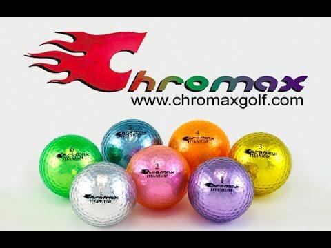 Amazing Extreme Three Ball Putting with Chromax Golf Balls.