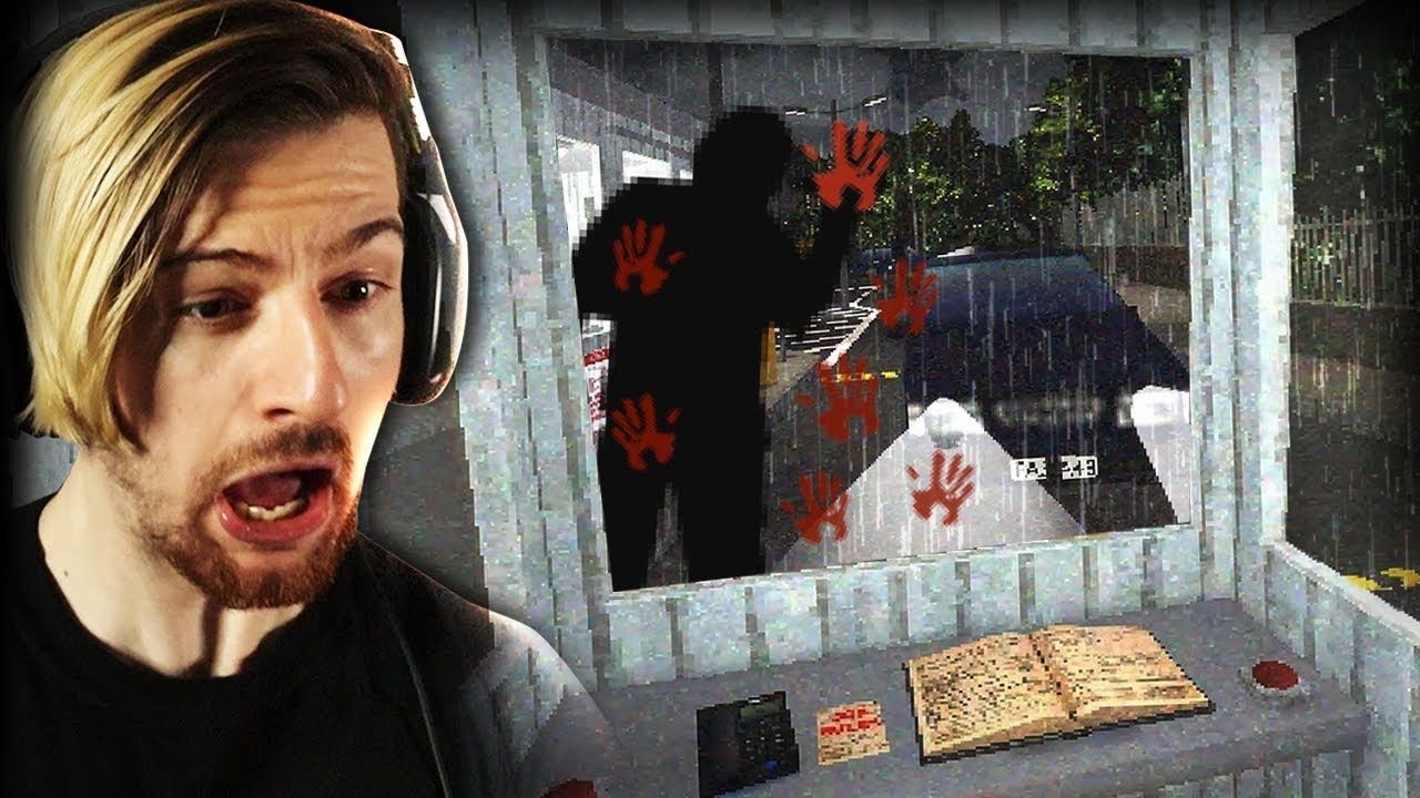 TAKING THE JOB AT A HAUNTED SECURITY BOOTH? YEAH.. QUIT & RUN (3RG)