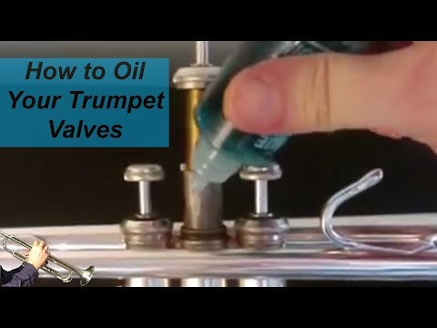 How To Oil Your Trumpet Valves.