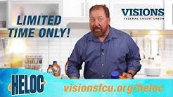Introducing HELOC from Visions Federal Credit Union