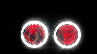 Projetor Angel Eyes RGB e Devil Eyes RGB