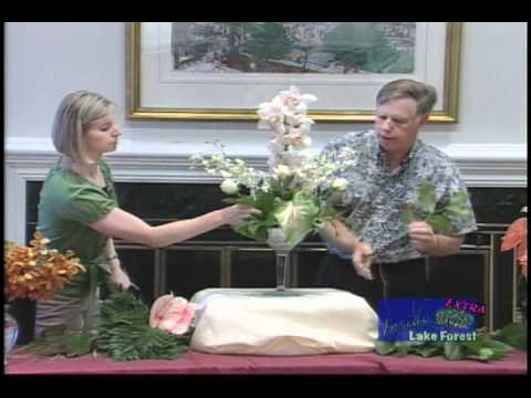 Inside Lake Forest - Hawaiian Flower Demonstration