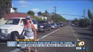 Road rage in Pacific Beach caught on camera