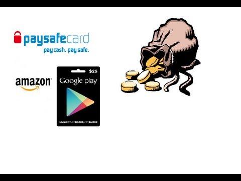 Free paysafecard pin code 1 USE ONLY 5EURO | FunnyDog TV