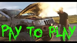 how to properly bury and blow up a jeep wj