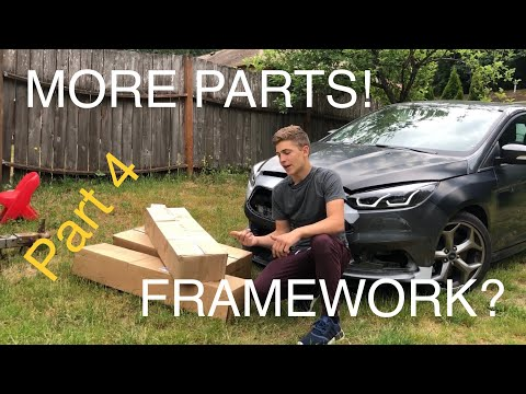 Rebuilding a wrecked Ford Focus st part 4
