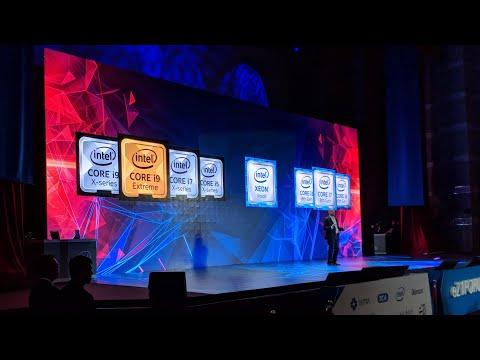 Intel Computex Press Conference- Live!