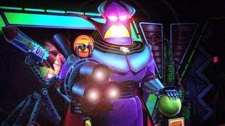 Disneyland Buzz Lightyear Astro Blasters ride POV
