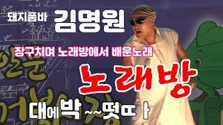 [WTV] 가수 김명원 (돼지품바) / 노래방  (장안…