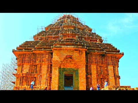 Konark Sun Temple At Odisha India 2014 Youtube