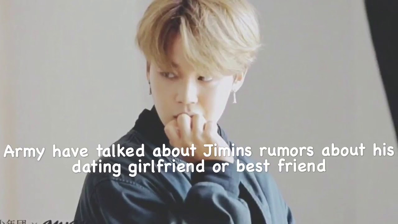 breaking news bts jimin rumored girlfriend goes public youtube