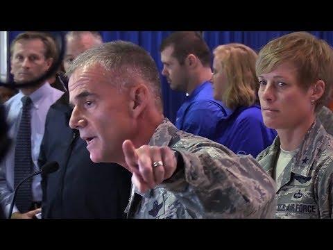 Air Force Lt. Gen. addresses cadets about racism incident