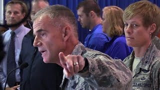 Air Force Lt. Gen. addresses cadets about racism incident