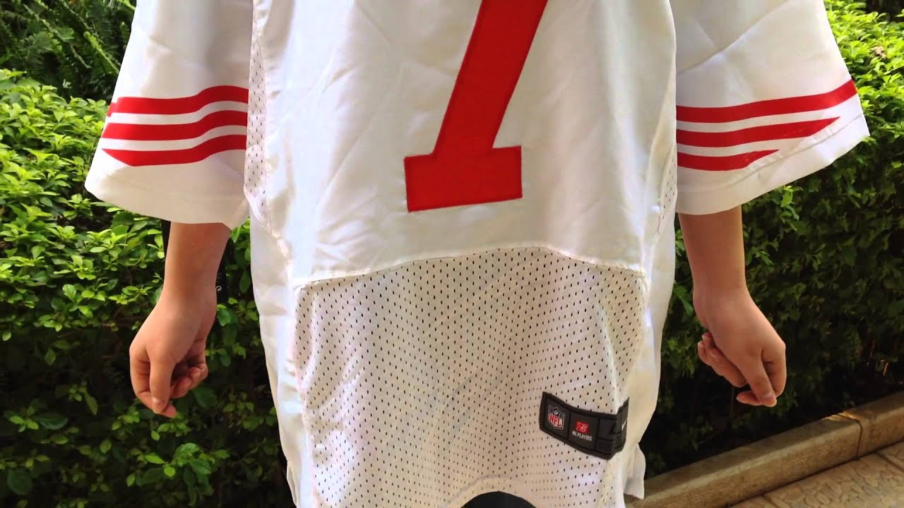 low priced a9ef0 66880 Colin Kaepernick Jersey Away White Elite #7 Nike NFL San Francisco 49ers  Jerseys