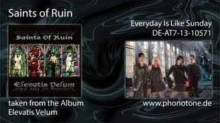 Saints of Ruin - Everyday Is Like Sunday (Cover Version)