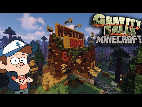 Как построить Хижину Чудес из Гравити фолз в Minecraft | Mystery Shack | Gravity Falls