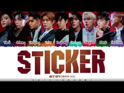 NCT 127 - 'STICKER' Lyrics [Color Coded_Han_Rom_Eng]