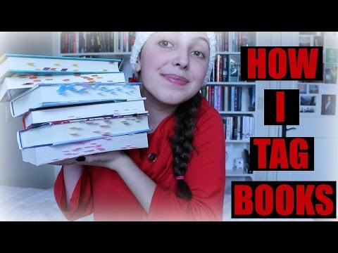 HOW I TAG/FLAG MY BOOKS!