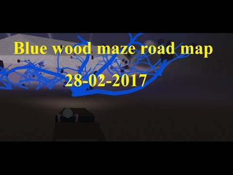 Lumber tycoon 2 Blue wood maze road guide map- Roblox 28-02-2017