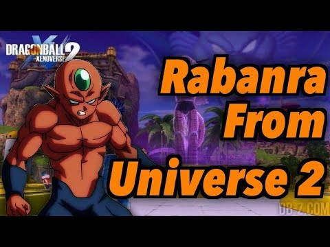 How To Make Rabanra From Universe 2 In Dragon Ball Xenoverse 2