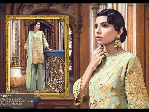 21c7ab2e93 Alkaram Summer Eid Festival New Dresses Collection 2018 - YouTube