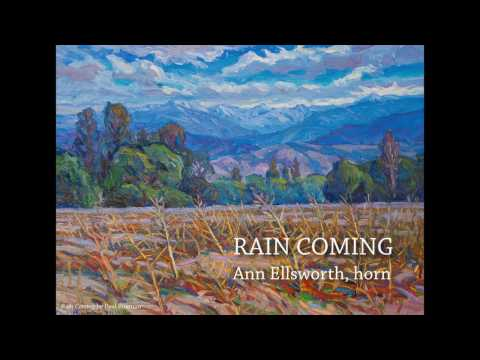 RAIN COMING Fasch: Concerto for 2 Horns, 2 Oboes, Strings, and Basso Continuo--Ann Ellsworth, horn