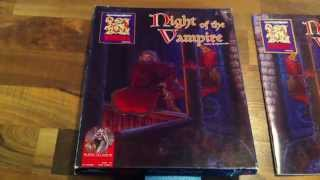 Night of the Vampire box set module (AD&D 2nd Edition RPG) TSR