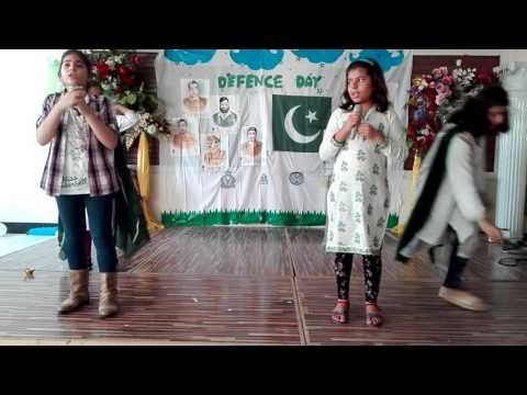 Grade 4- performance  Defence Day of Pakistan 2016