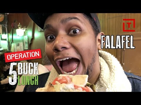 The Best Cheap Falafel in NYC || Operation $5 Lunch