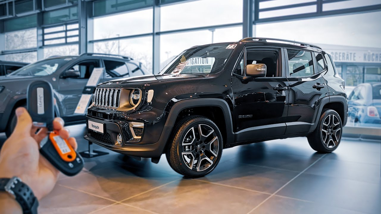 2020 Jeep Renegade Limited 1 3 T Gdi 180hp Youtube
