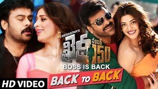 Download Hindi Video Songs - Khaidi No 150 Back To Back Video Songs   Chiranjeevi, Kajal   Rockstar Devi Sri Prasad
